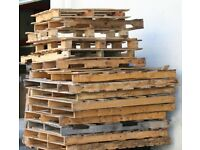 FREE: A Mixture of Premium and Broken; Used Wooden Pallets for collection from central Windsor