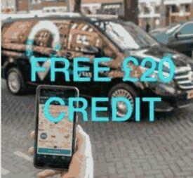 VIAVAN Use code danielle9i4 for £20 free credit on upcoming lift share app - like uber