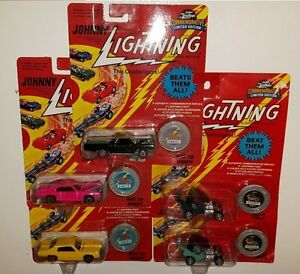 OLD JOHNNY LIGHTNING DIE CAST CARS