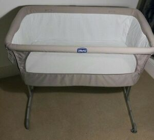 Chicco Next2Me Bedside Baby Bassinet immaculate condition Prahran Stonnington Area Preview