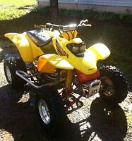 2001 440ex trade for dirt bike