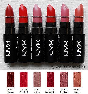 Nyx Matte Lipstick Mls купить на Ebay в америке лот 330574179912