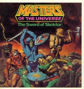 Masters of the Universe golden books (2)