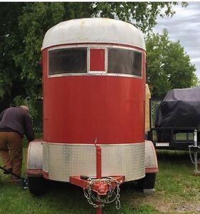 2 horse trailer
