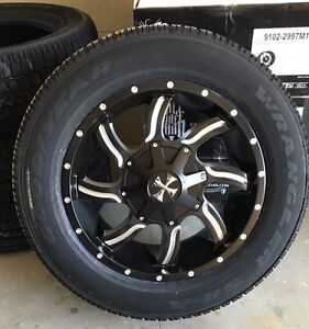 20x9 Cali-offroad rims w/ Goodyear All-season tires package 1999.00 tax in