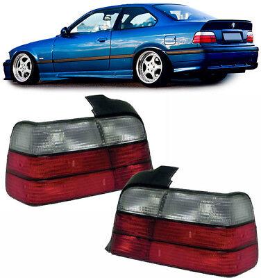 Rückleuchten rot weiß für BMW 3ER E36 Coupe + Cabrio 90-99, gebraucht gebraucht kaufen  Witten