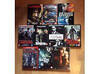 Job lot 10 DVDs horror/thriller/action (bundle #3)