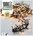 Micro Cluster 1000 LED's 20 meter warm wit
