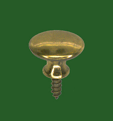 POLISHED MACEY BOOKCASE DOOR KNOBS #2 (PAIR) NEAR PERFECT PROFILE DIMENSIONALLY!