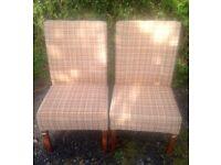 2x Retro/Vintage 1970's Mid Century Danish chairs