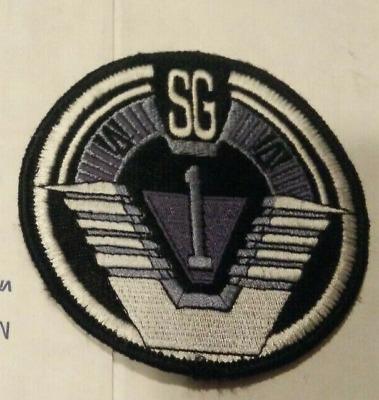 Stargate SG-1 TV Series Group 1 Logo Embroidered Shoulder Patch NEW