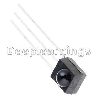 2 Pcs 38 Khz Remote Tsop4838 Dip-3 Ir Receiver Infrared Radiation Module