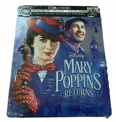 Mary Poppins Returns (4K Ultra HD/Blu-ray/Digital) Steel Book Best Buy Exclusive - Halloween 4 Movie Script