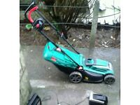 Grab a BARGAIN Cordless mower, charger included
