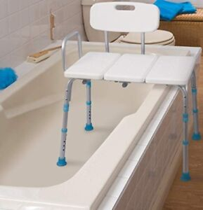 Bath and Shower Transfer Bench with Reversible back ( Used)