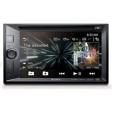 "SONY XAV-W650BT 6.2"" DOUBLE DIN CD DVD USB BLUETOOTH NFC CAR STEREO RECEIVER"
