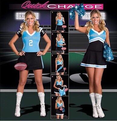 Football Cheerleader Costumes (Dream Girl Cheerleader Football Player Costume)