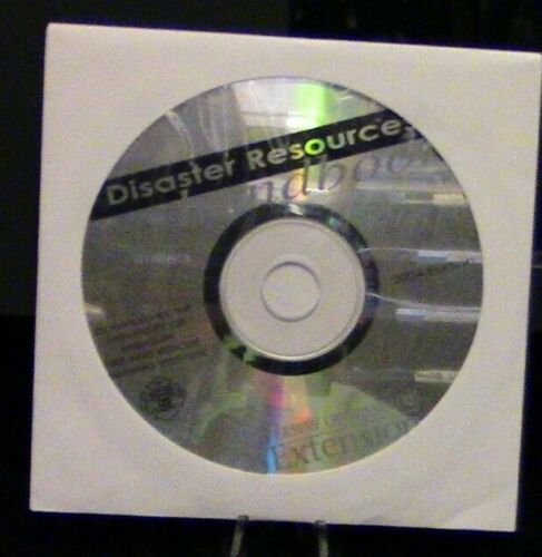 Disaster Resources Handbook (University of Missouri) CD