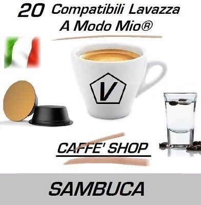 """20 Capsule Compatibili Lavazza A Modo Mio®, Miscela """"Sambuca"""""""