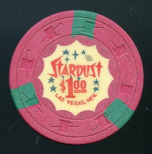 $1 Stardust 4th issue 1964 Las Vegas Casino Chip Very Scarce! Legendary Casino