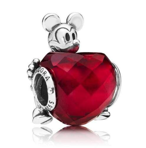 Pandora ##797168NFR# Charm Mickey Cuore D' Amore