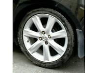 Yaris SR alloy wheels