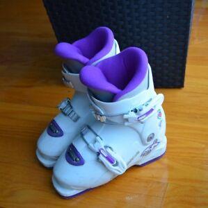 Bottes ski enfant fille 5 a 7 ans