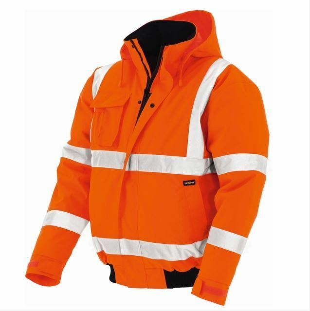 Warnschutz Pilotenjacke WHISTLER Arbeitsjacke TEXXOR leuchtorange leuchtgelb