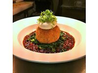 Sous Chef with high standard of food preparation & presentation for busy gastro pub