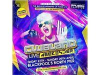Clubland live weekender