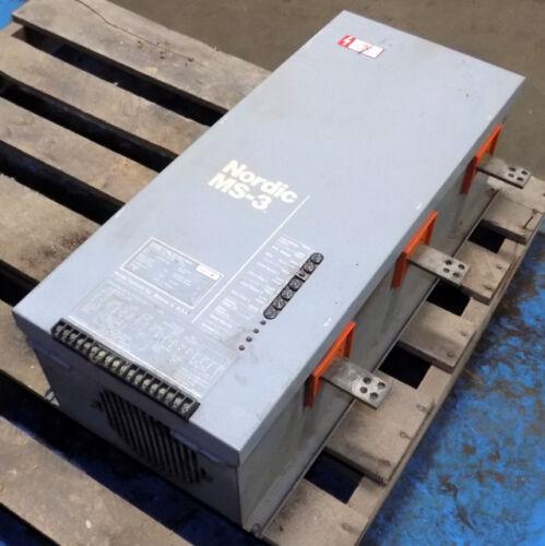 NORDIC CONTROLS 200HP MS-3 SOFT START MOTOR CONTROLLER 2634V00