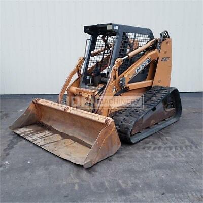 2007 Case 450ct 88hp Track Skid Steer Loader Case 450