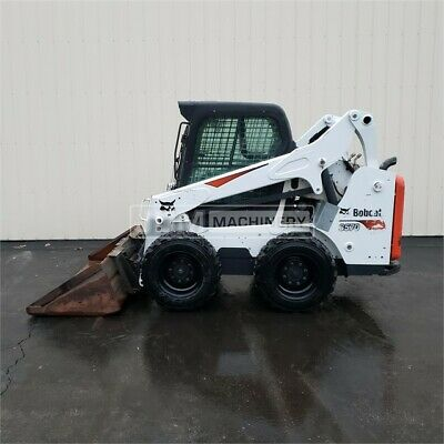 2017 Bobcat S570 Cab Skid Steer Wheel Loader Cat S570