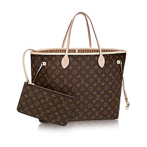 Wanting a Never full large Louis Vuitton purse.