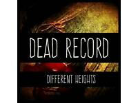 Dead Record needs a new Drummer for Original Alternative Rock Band