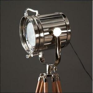 vintage industrial designers chrome nautical spotlight. Black Bedroom Furniture Sets. Home Design Ideas