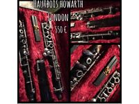 Howarth oboe wooden and great ;)