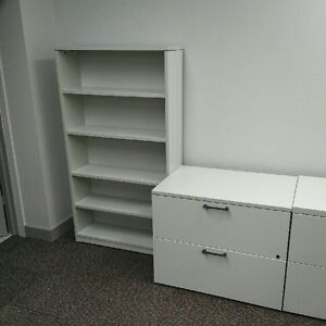 Used Lacasse Laminate 2 Drawer Lateral