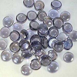 20 Lilac Light Purple Glass Globs - Gems - Wishing Stones - Wedding