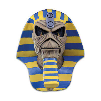 Iron Maiden Powerslave Cover Full Head Metal Rock Latex Adult Halloween Mask (Iron Maiden Halloween)