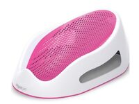 Angel care soft touch bath seat- pink