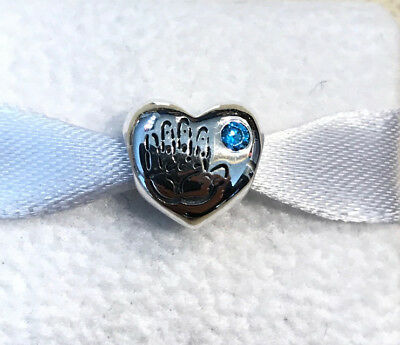 Pandora Baby Boy Its A Boy Charm #791281CZB + Gift Packaging & Pouch](Its Boy)