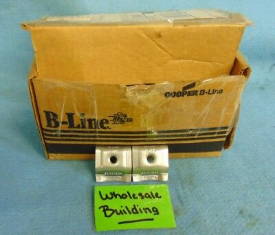 """COOPER B-LINE 1/4"""" SHORTY CLAMP, 9ZN-1204, **LOT OF 38 PAIR**"""