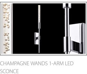 New In Box Champagne Sconce