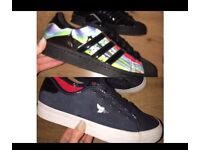 Women's/junior Creative recreation & Adidas Rita Ora Superstars BOTH UK size 4
