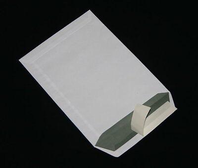 50 Versandtaschen/Briefumschläge C5/A5 weiß Haftklebend ohne Fenster 162x229 mm