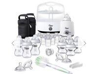 Brand new Tommee Tippee Complete Feeding Kit White - White