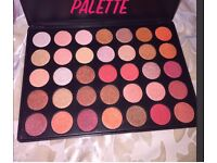 35 pan shimmer eyeshadow palette makeup NEW