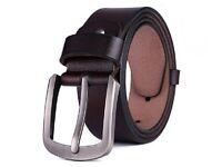 Mens Leather Belt, Black Leather Belt, Brown Leather Belt, Strong Leather Belt