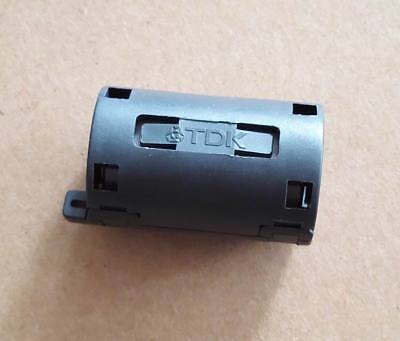 5x Tdk Black 11mm Cable Clamp Clip Rfiemiemc Noise Filters Ferrite Core Case